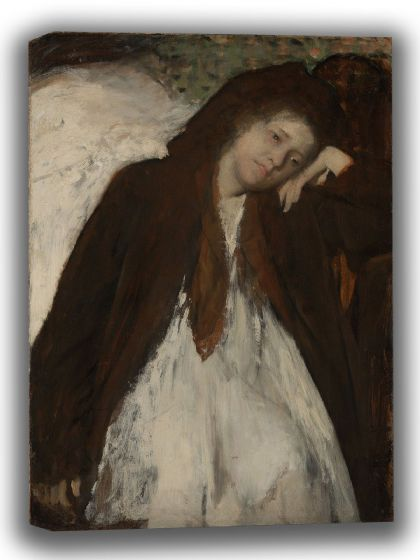 Degas, Edgar: The Convalescent. Fine Art Canvas. Sizes: A4/A3/A2/A1 (003765)
